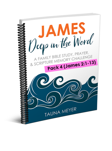 (Pack 4) James Scripture Challenge (James 2:1-13)