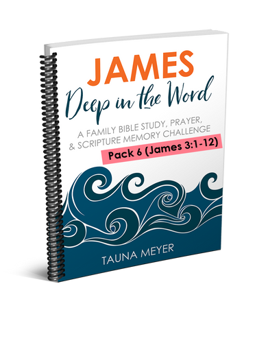 (Pack 6) James Scripture Challenge (James 3:1-12)