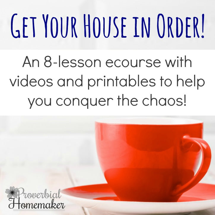 Get Your House in Order eCourse