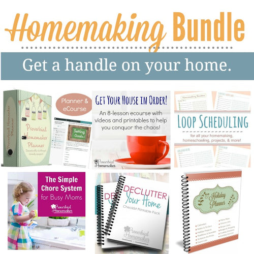 Homemaking Super Bundle