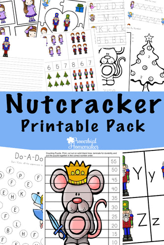 Nutcracker Printable Pack