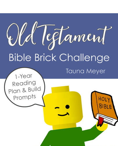Old Testament Bible Brick Challenge