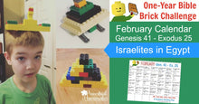 One-Year Bible Brick Challenge