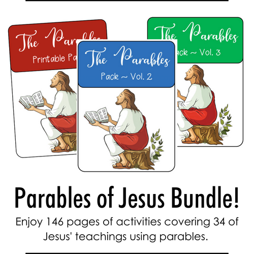 Bundle: Parables of Jesus Volumes 1, 2, and 3