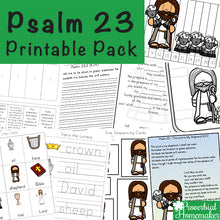 Psalm 23 Printable Pack