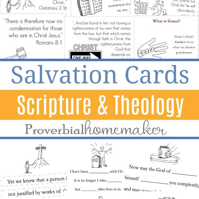 Scripture & Theology Cards: Salvation