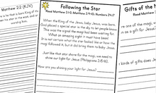 Three Kings Printable Pack & Bible Study