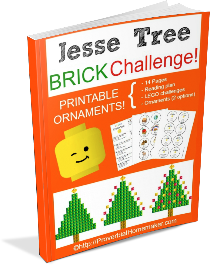 photograph about Printable Jesse Tree Ornaments known as Jesse Tree Brick Trouble Ornaments