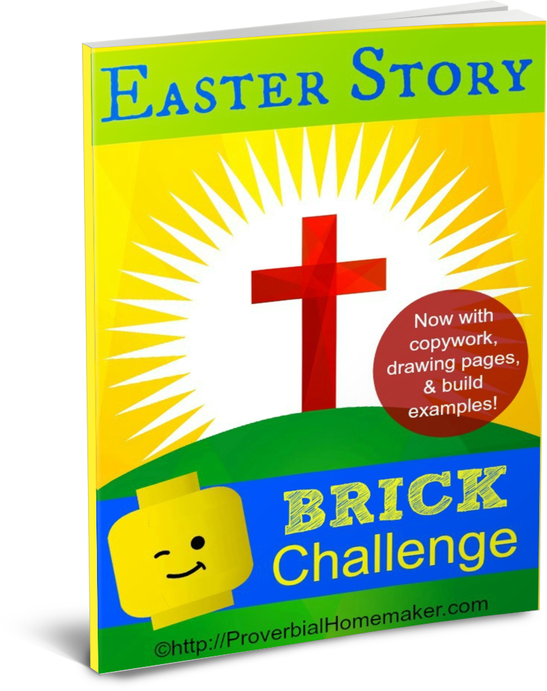 Easter Story Brick Challenge & Learning Pack
