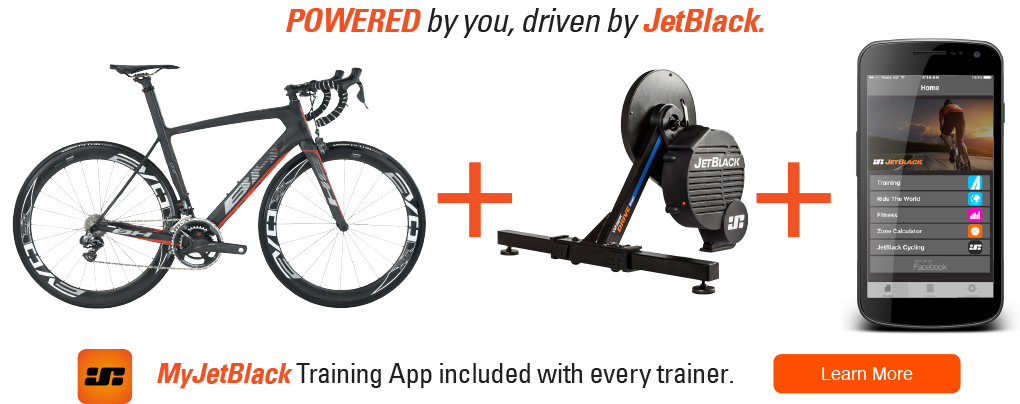 S1 Magnetic Sport Trainer - JetBlack Cycling Pty Ltd