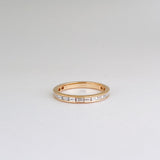 BAGUETTE CHANNEL RING