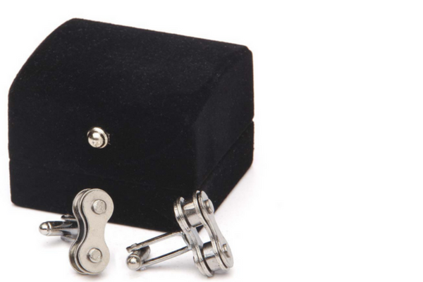 Ethical + Eco Gifts for Guys - Bike Chain Cufflinks