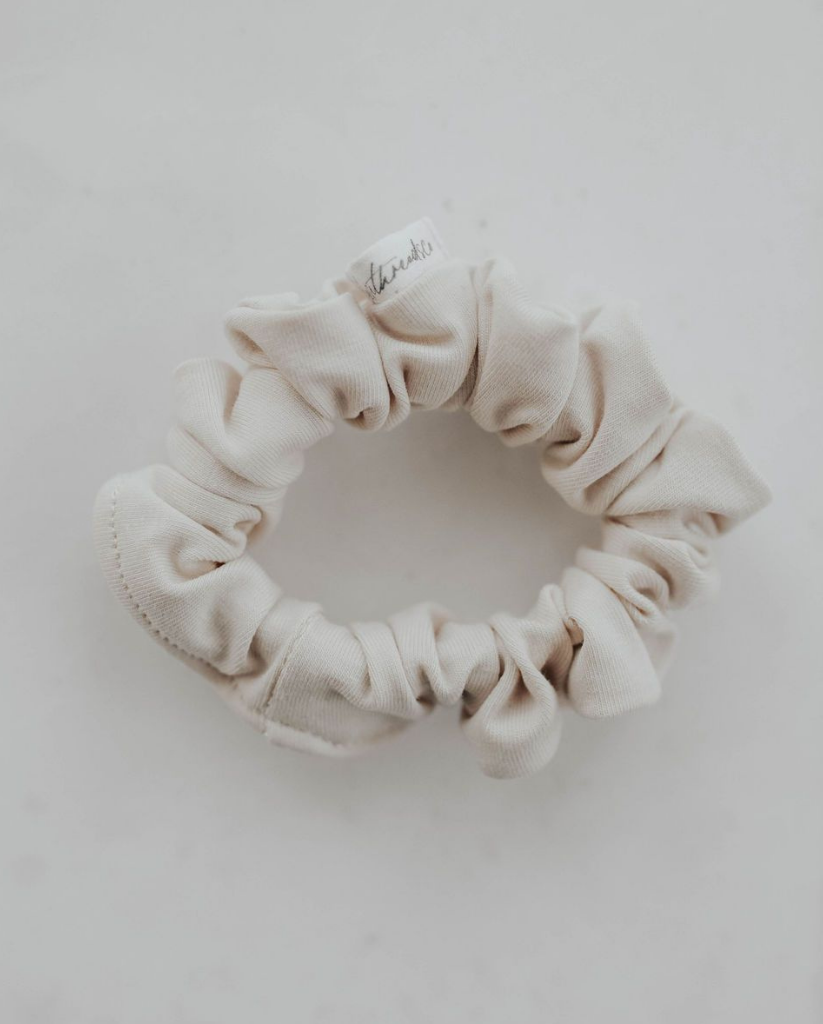 Mini Scrunchie - Cream