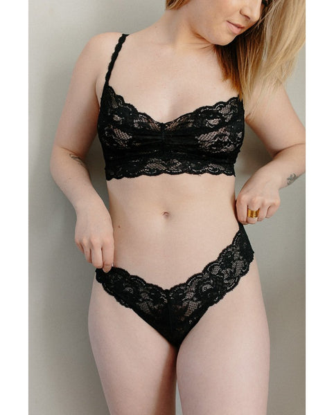 Sweetie Bralette - Black