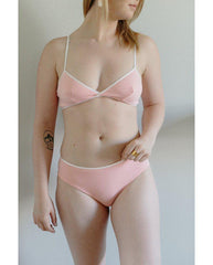 Organic Cotton Jessica Boyshort Undies - Pink