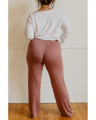Eucalyptus Tencel PJ Pants - Rose Pink