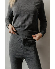 Almost as Sustainable As Being Naked Sweater - Grey *Only XS Left! FINAL SALE ITEM*