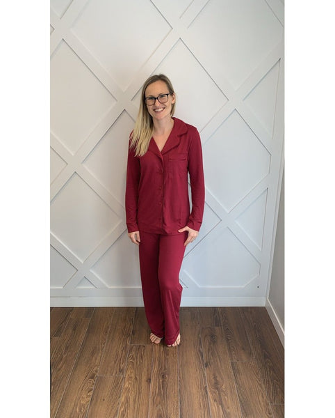 Bella PJ's - Ruby Red *Only S, M + L left! FINAL SALE*