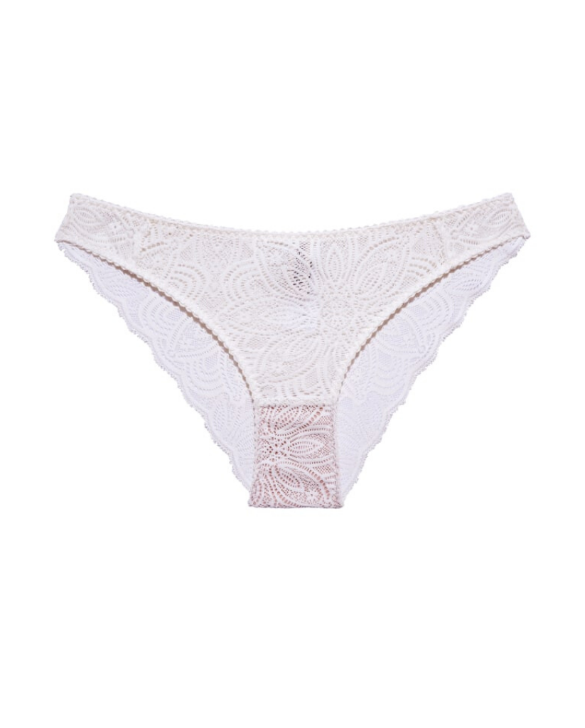 Creamy White Recycled Lace Lima Undies *FINAL SALE*