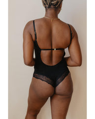 Eucalyptus Tencel Bodysuit - Black