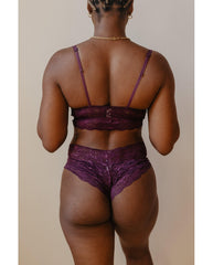 Hottie Boyshort - Merlot Purple