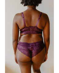 Curvy Sweetie Bralette - Merlot Purple *FINAL SALE*