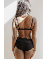 Dolce  Bralette - Black / Blush