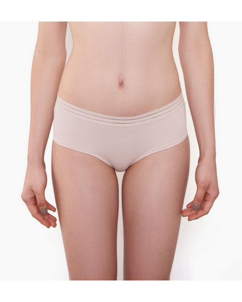 Leroy Bamboo Boyshort Undies - Beige *Only XL left!*