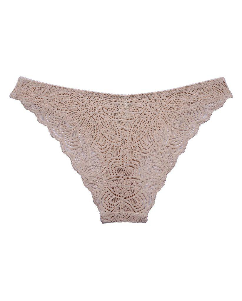Beige Recycled Lace Lima Undies