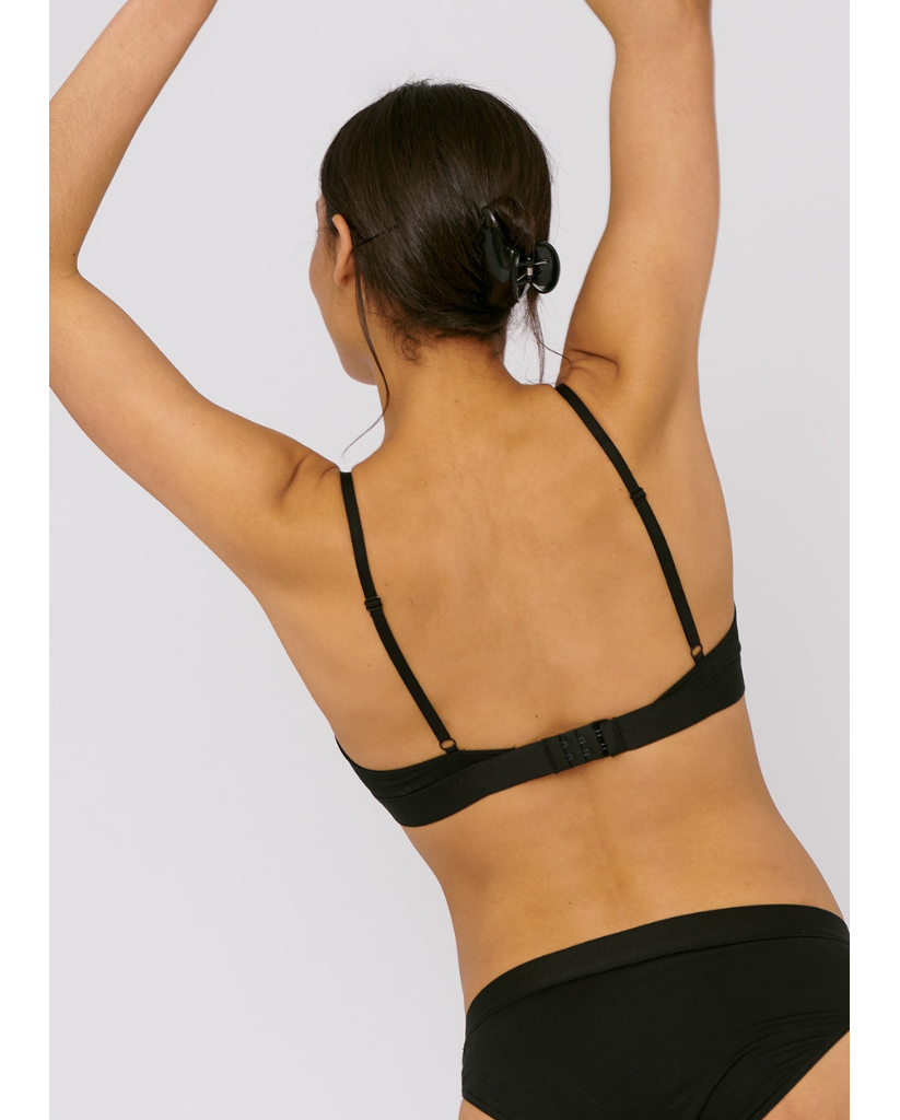 Tencel™  Lite Bralette - Black *Only XL Left! FINAL SALE*