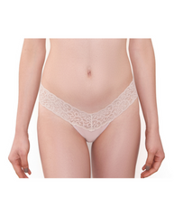 Chrystie Lace Bamboo Thong - Burgundy *Only XL Left!*