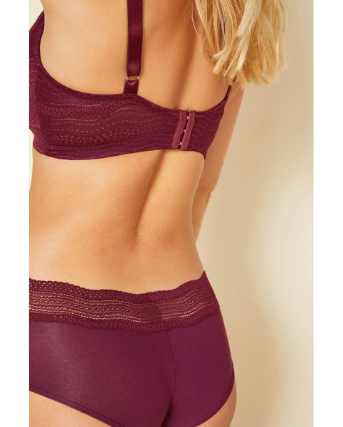 Curvy Dolce Bralette - Mulberry Purple