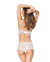 Dolores Cami Bralette - White *Only S + M left!*