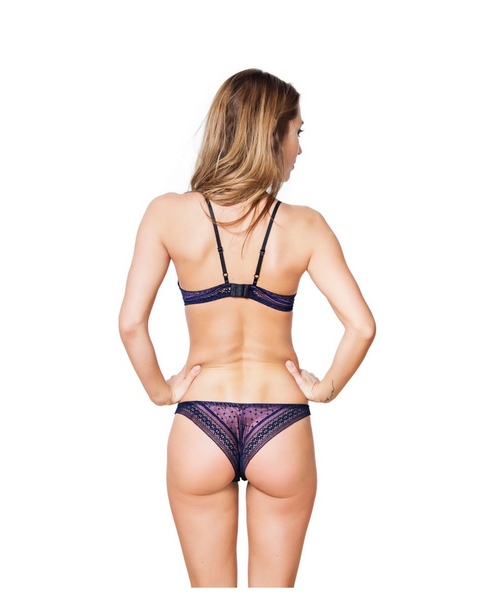 Elyza Purple Brazilian Undies