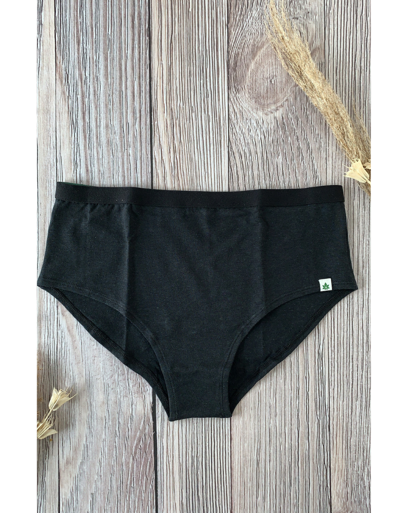 6-pack Hemp High Waist Bikini Undies