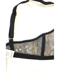 Recycled Mesh Bralette - Forest Print *FINAL SALE*