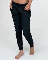 Organic Cotton Jogger Sweatpants - Black *Only L + XL left!*
