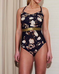 Floral Lana Lyocell Bodysuit *Only M  left!*