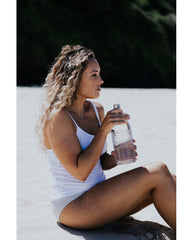 Tencel™ Lite Singlet Tank Top - White *FINAL SALE*