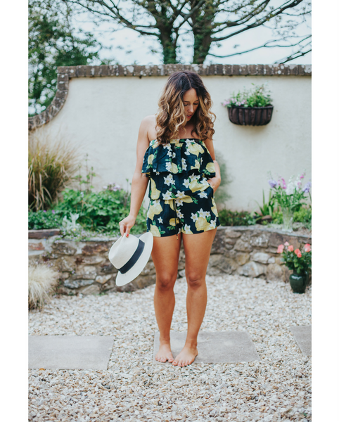 Lemona Romper *Only S + L Left!*