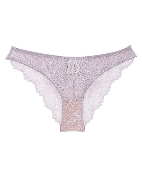 Purple Lima Recycled Lace Bikini Undies *only 1 L left!*