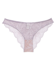 Purple Lima Recycled Lace Bikini Undies