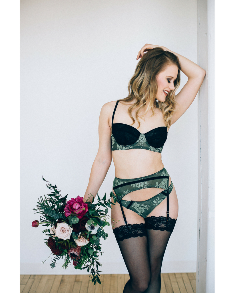 Rita Pistachio Bra *Only 30C, 30D left!*