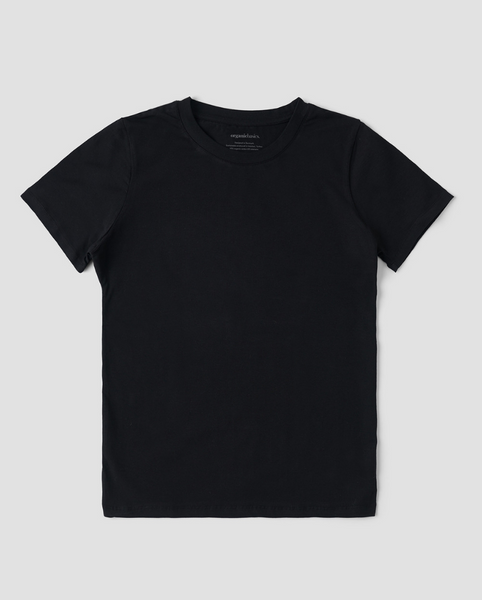 Organic Cotton T-Shirt - Black