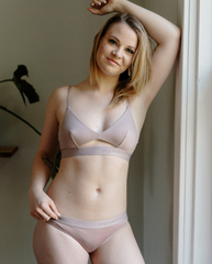 Tencel™ Lite Bralette - Dusty Rose Pink