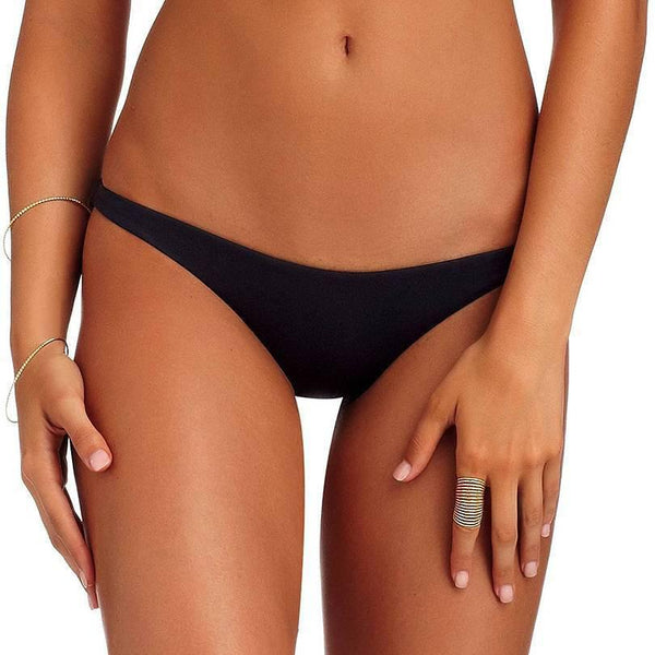 Black Samba Ruched Bottoms *Only M + L Left!*