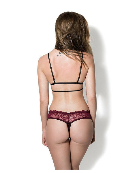 The Perfect Lace White Thong -*ONLY 1L LEFT*
