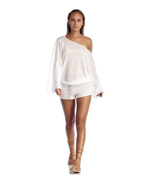 White Solana Romper - Almost gone!