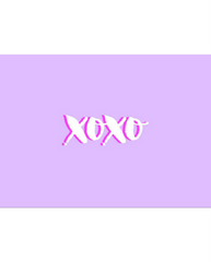 XOXO Card *FINAL SALE ITEM*