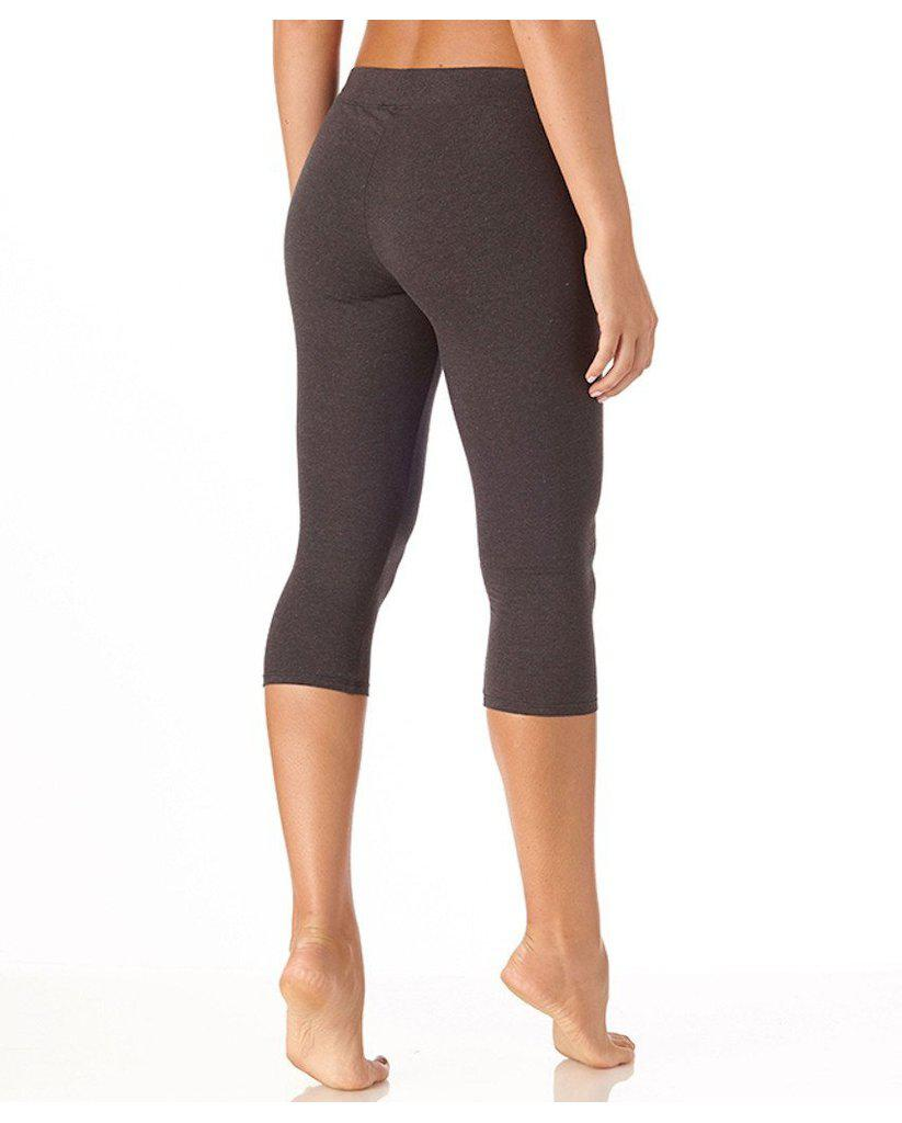 Organic Cotton Everyday Cropped Leggings - Heather Grey *Only XS + L left!*